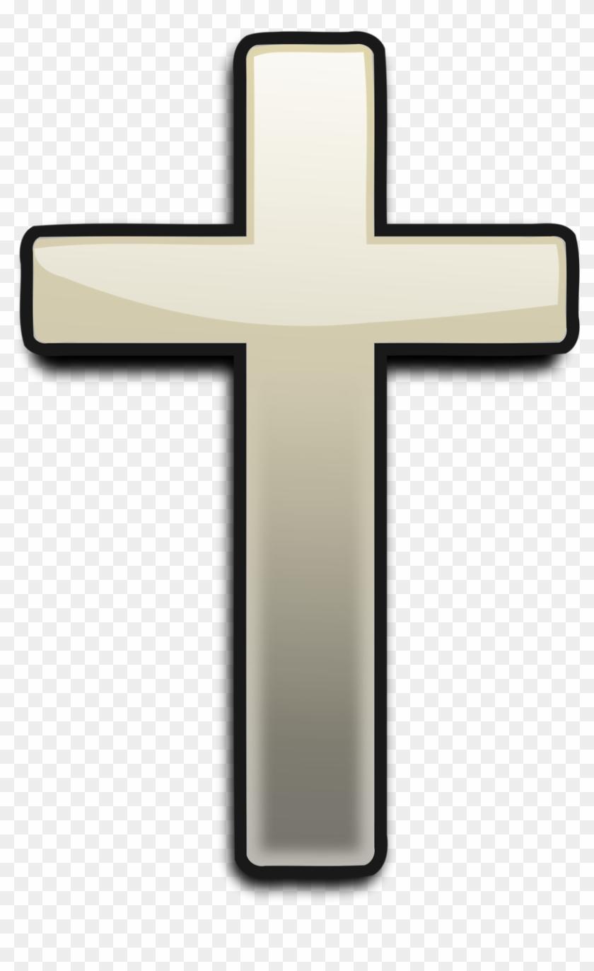 Christian transparent. Black cross png clipart