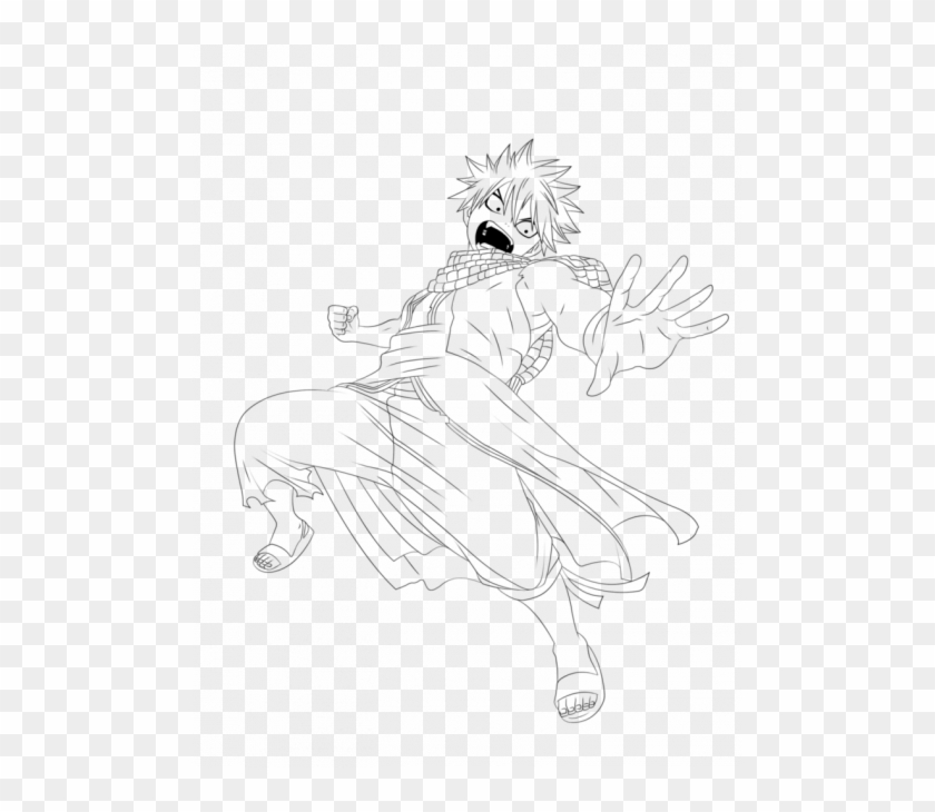 Natsu Dragneel Coloring Pages N10 Hd Png Download 494x650