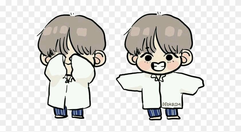 18 182560 tae v chibi bts sticker cute taehyung bts