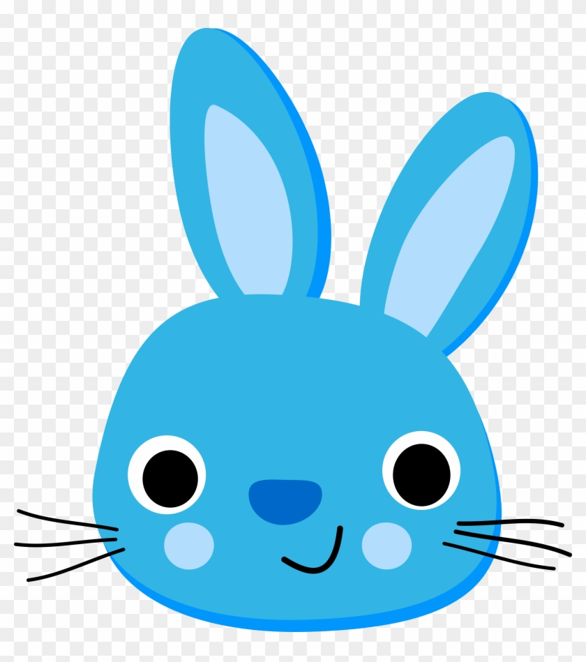Clip Black And White Stock Clipart Rabbit Lapin Bleu Rabbit Blue Hd Png Download 2217x2400 183174 Pngfind