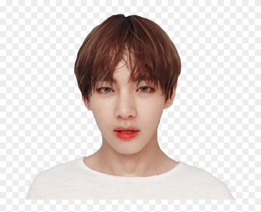Taehyung Stickers Face Transparent Funnypictures Png - Kim