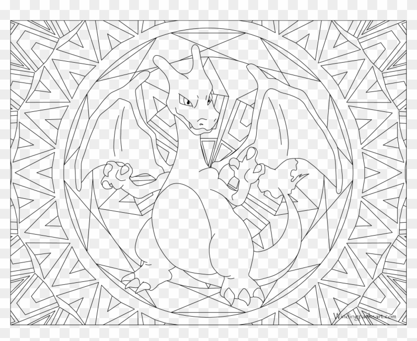 Pokemon Coloring Pages Charizard To Print Out Pokemon - Charizard ... | 686x840