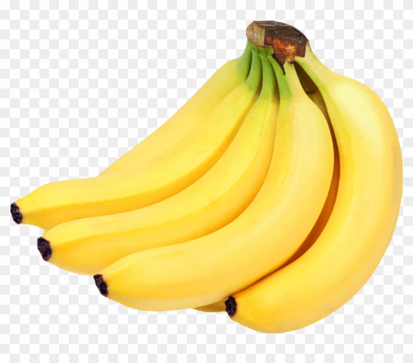 Banana transparent background. Download bunch of bananas