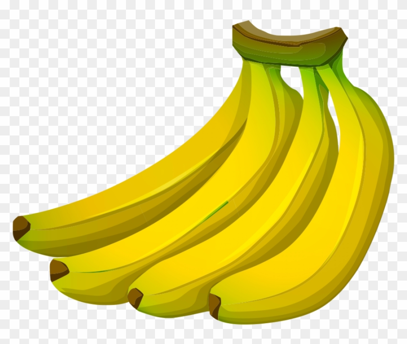 Banana transparent. Png vector background bananas