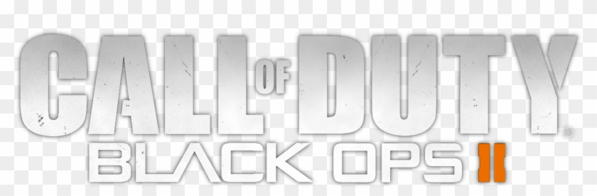Call Of Duty Black Ops 2 Logo Png Monochrome Transparent Png