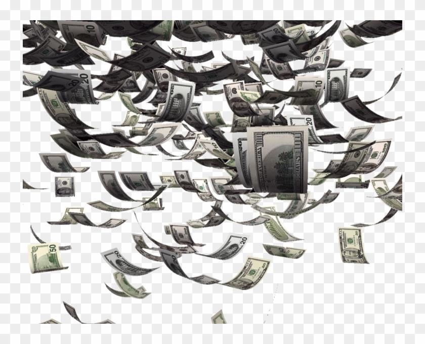Money Falling - Raining Money Png Gif, Transparent Png ...