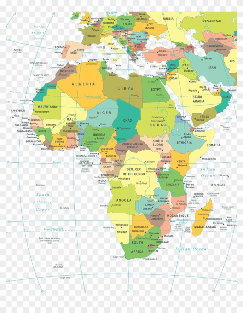 Carte Afrique Gao.Map Of Africa Png Image Carte D Europe Et D Afrique