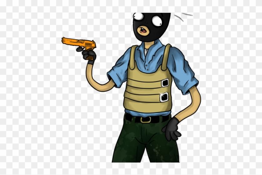 Terrorist Clipart Csgo - Csgo Png Character, Transparent Png
