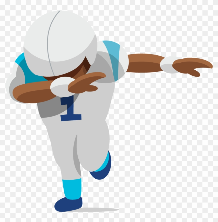 The Unofficial Fan Made Carolina Football Emoji Dabbing Football Player Cartoon Hd Png Download 1024x1024 1816920 Pngfind Emojis for the world cup. dabbing football player cartoon hd png