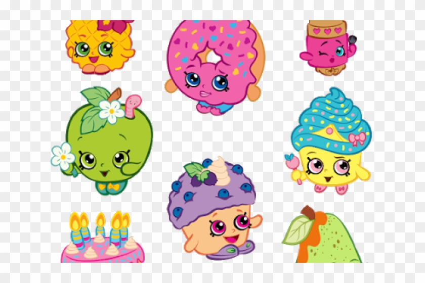 image regarding Printable Shopkins Pictures named Tomato Clipart Shopkins - Printable Shopkins, High definition Png