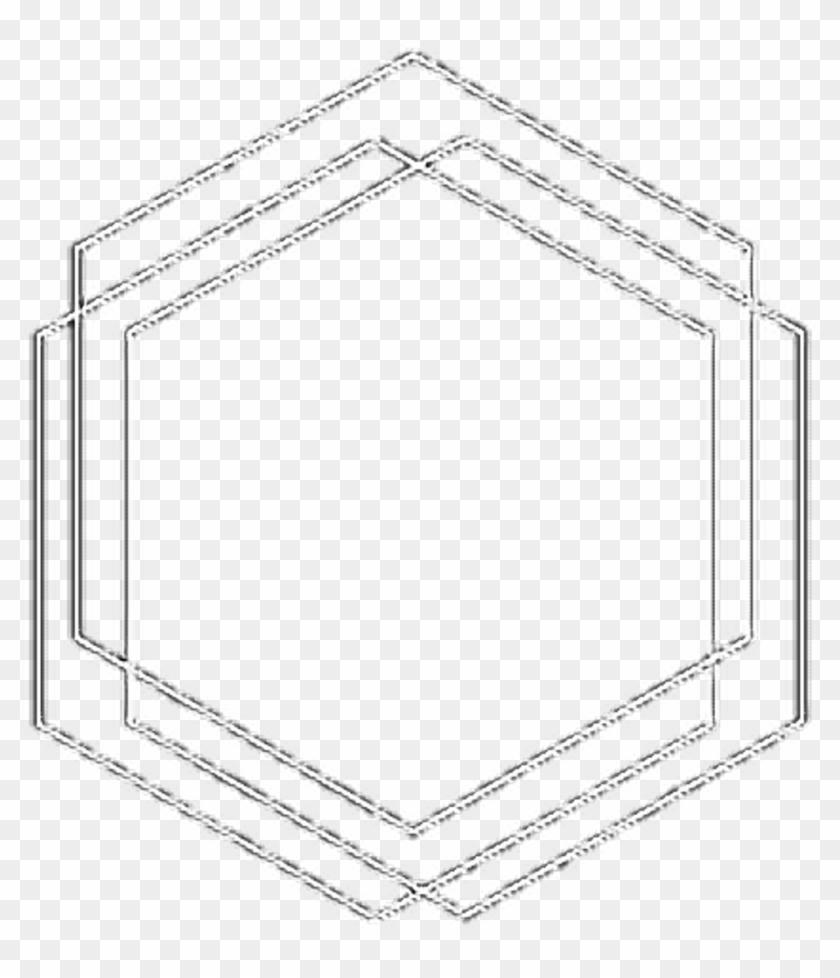 tumblr #hexagon #white #overlay #background #icon - Marco