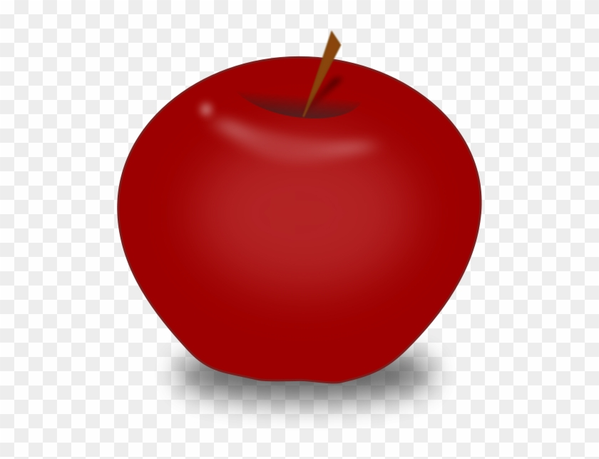 Apple small. Red clipart free large