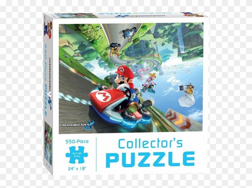 Mario Kart 8 Collectors Puzzle 550 Pieces, HD Png Download