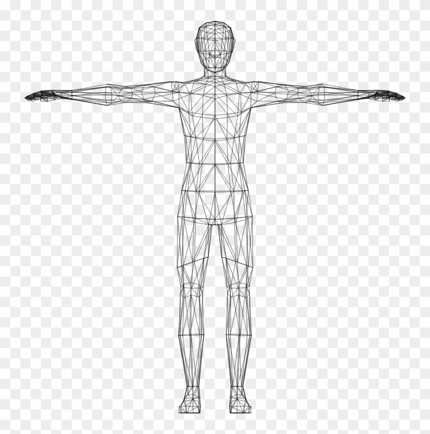 Body transparent. Medium image human clipart