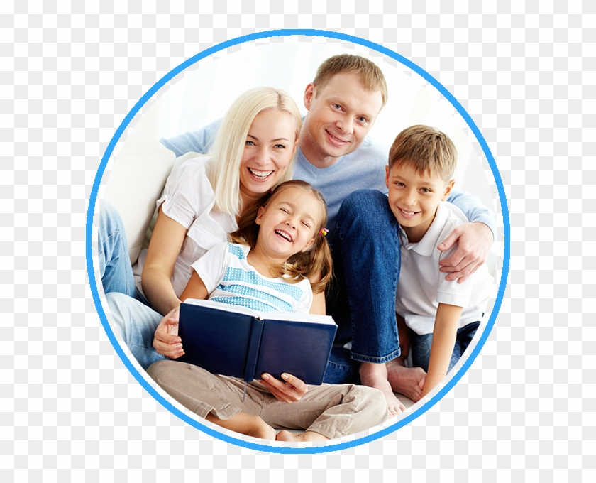Happy Family Reading A Book Dentist Glen Waverley Hd Png Download