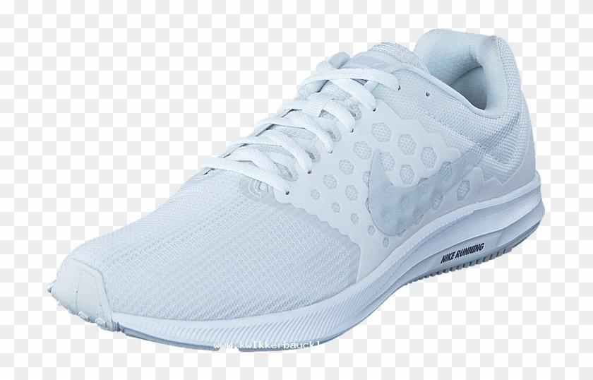 new styles b5da4 fc438 Nike Downshifter 7 White white 60009-88 Mens Textile, - Sneakers, HD. Free  Download