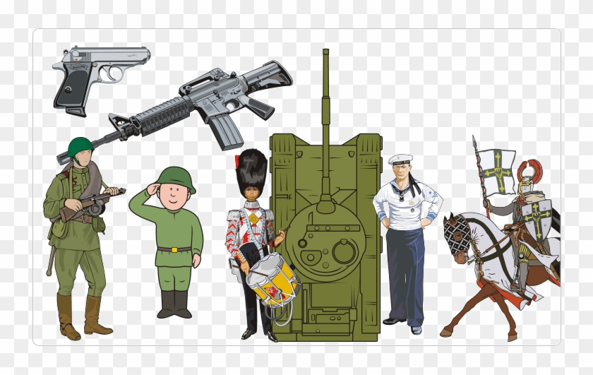 Military Clipart, HD Png Download - 750x451(#1867509) - PngFind