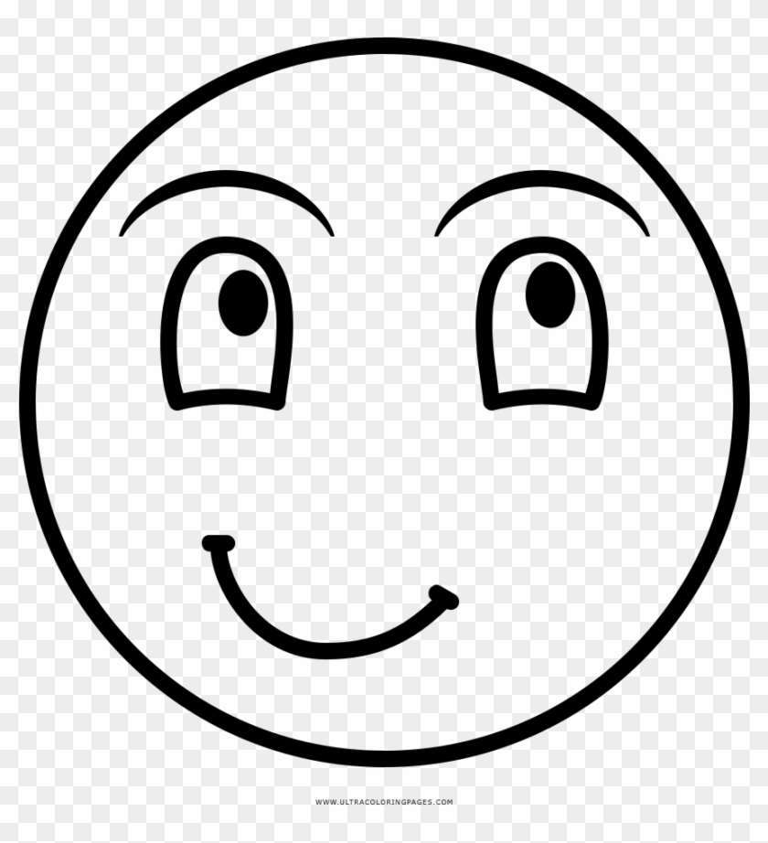 Laughing Face Coloring Page - Smiley, HD Png Download - 1000x1000(#1871071)  - PngFind