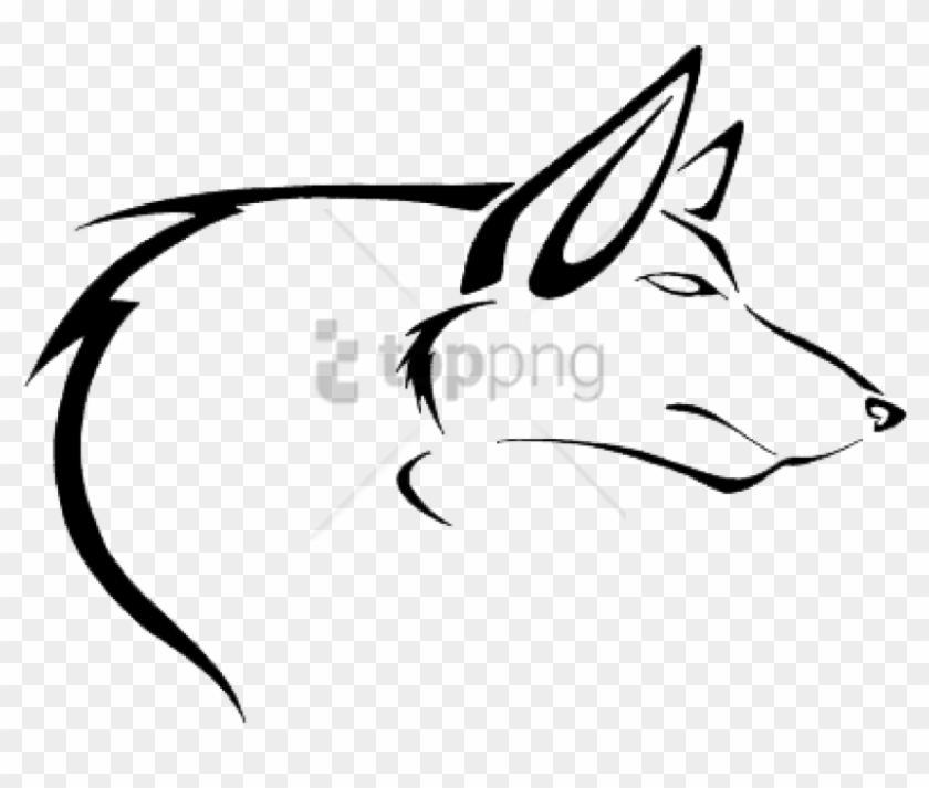 87ce073f6 Free Png Wolf Tattoo Simple Png Image With Transparent - Wolf Tattoo Designs,  Png Download