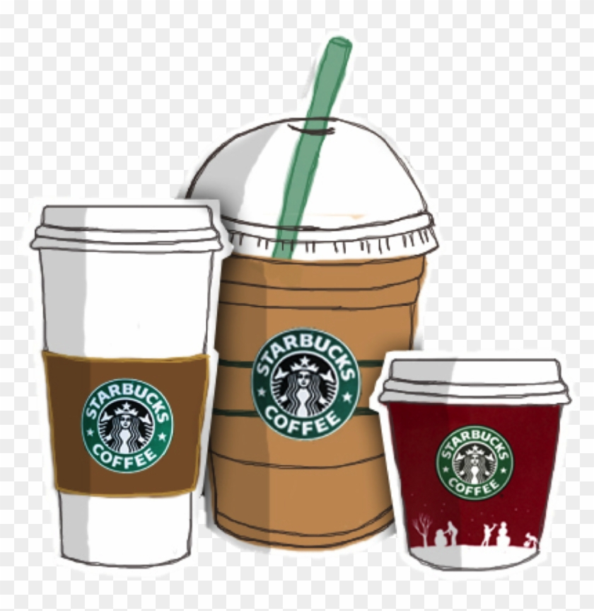 Coffee Frappuccino Starbucks Drawing Download Free