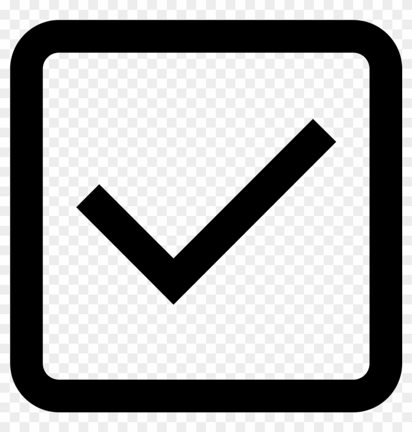 Empty Check Box Symbol - Missions Icon Png, Transparent Png
