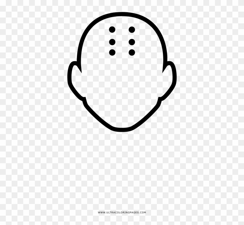 Krillin Coloring Page Line Art Hd Png Download
