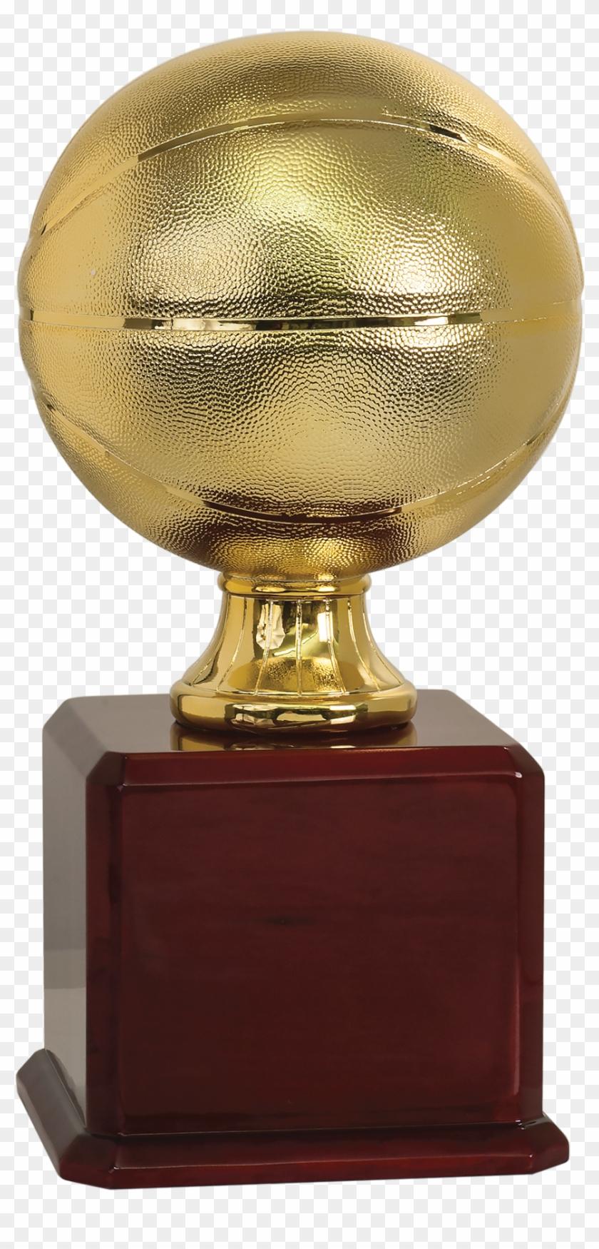 Bright Gold Basketball Trophy - Basketball Trophy