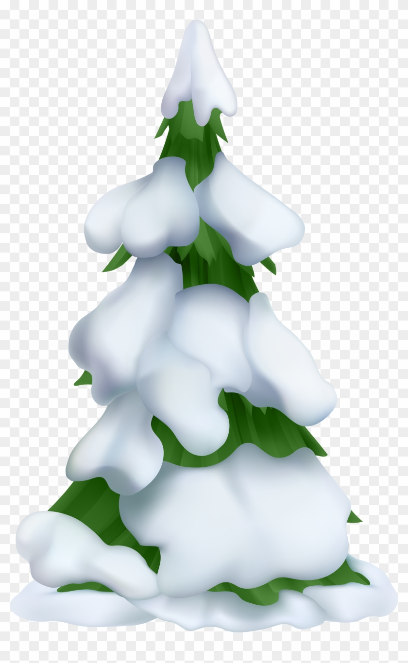 White Christmas Tree Png.Christmas Tree Clipart White Christmas Trees Snowy Snowy