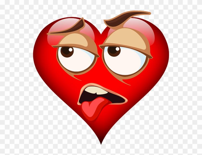 Emoji, Emojicon, Emojis, Heart, Valentine's Day, Love, HD
