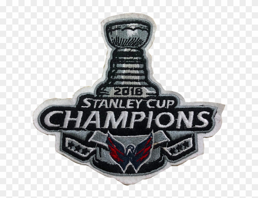 buy popular 1279f 6b6fe Washington Capitals Jersey - Stanley Cup Patch 2017, HD Png ...