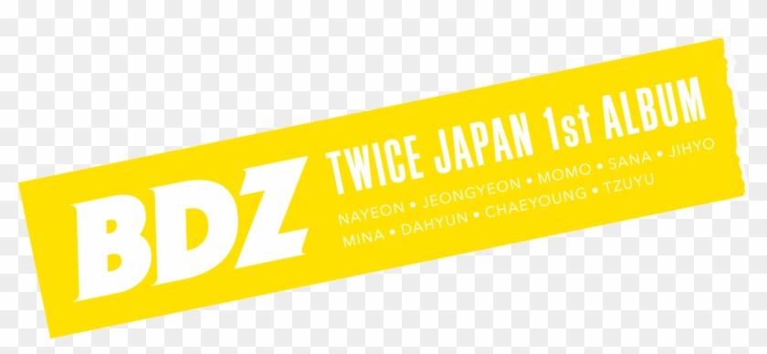 Scroll - Twice Bdz Logo Png, Transparent Png - 1500x622