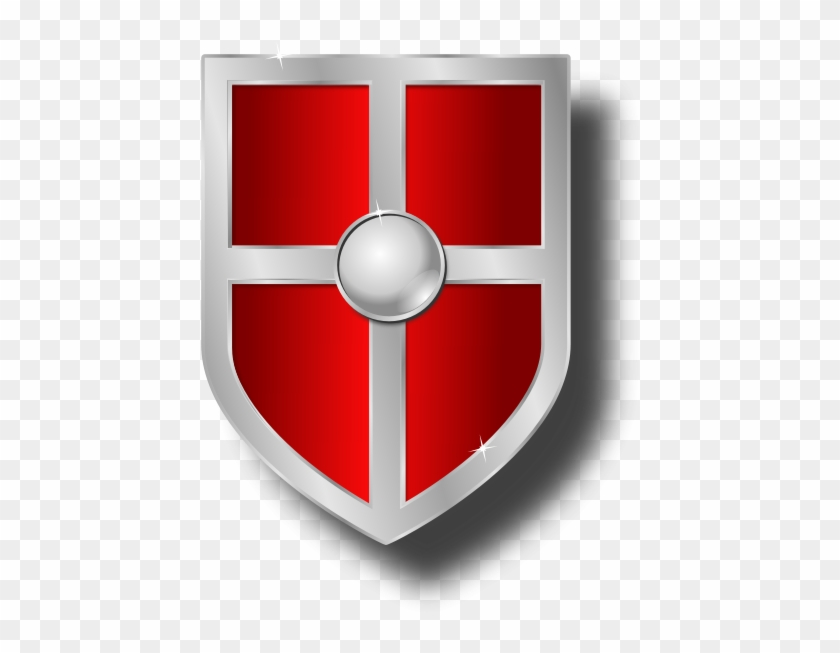 Shield red. Clipart medieval shields hd