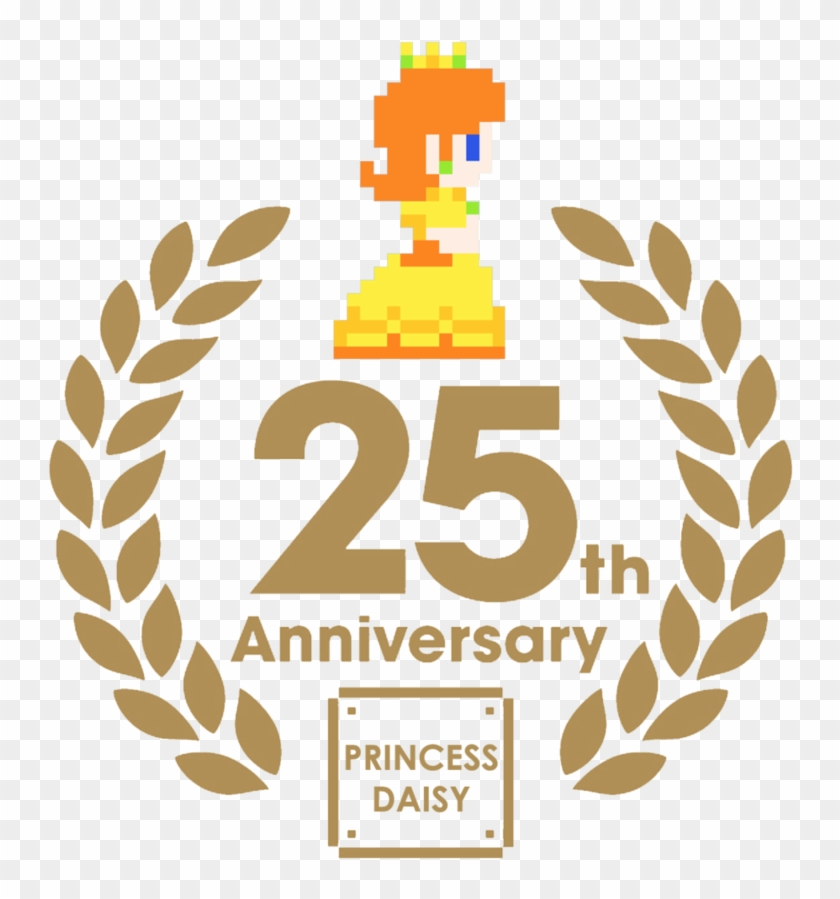 Svg Freeuse Princess Daisy - Super Mario History 1985 2010