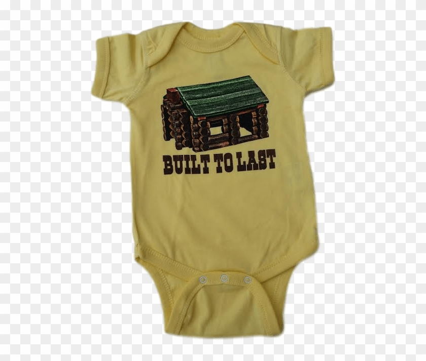 8056f4cb9 Built To Last Infant Baby Onesie, HD Png Download - 488x633(#1952977 ...