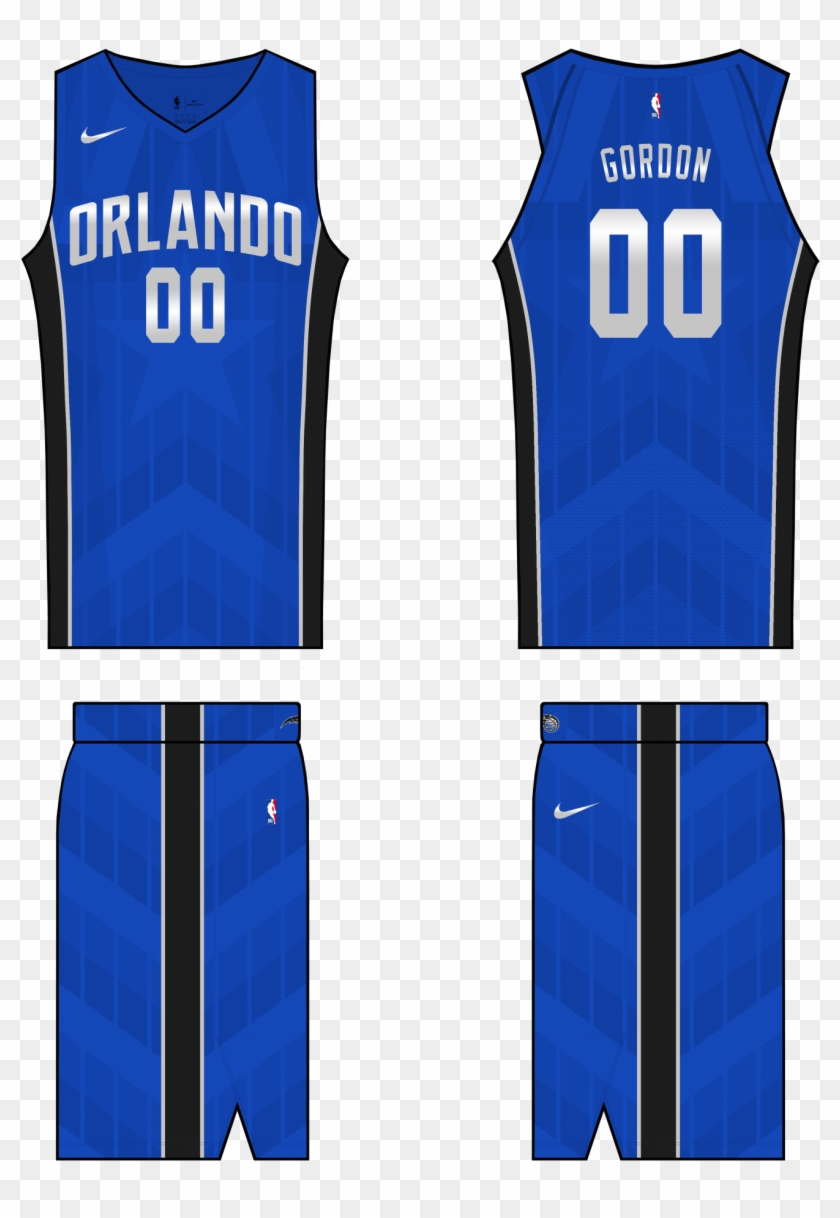 on sale 961f6 44fbe Orlando Magic Away - Sports Jersey, HD Png Download ...