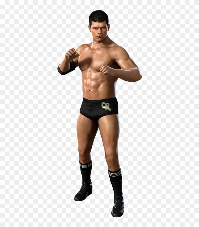 Cody Rhodes Transparent Images - Cody Rhodes Wwe Smackdown Vs Raw 2011, HD  Png Download - 475x949(#1953824) - PngFind
