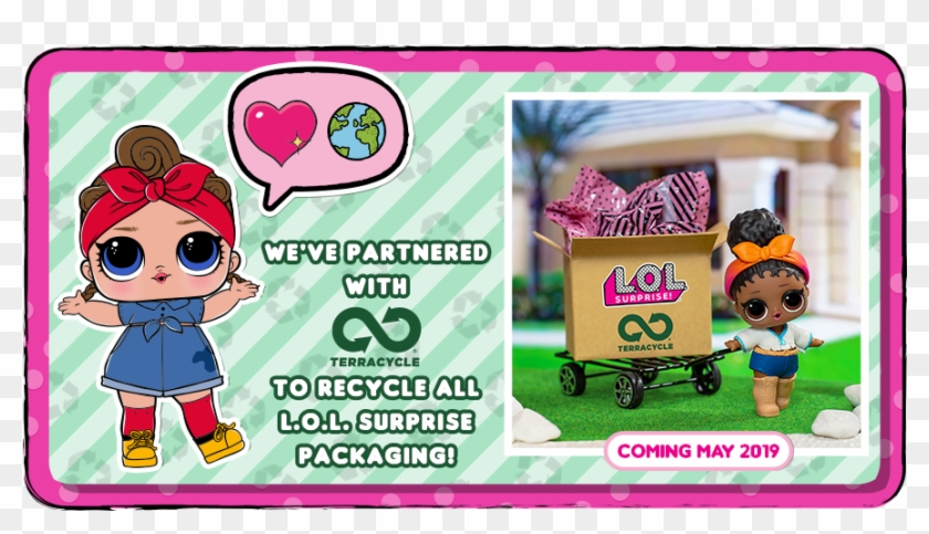 Lol Surprise Terracycle Partnership Program - Cartoon, HD Png