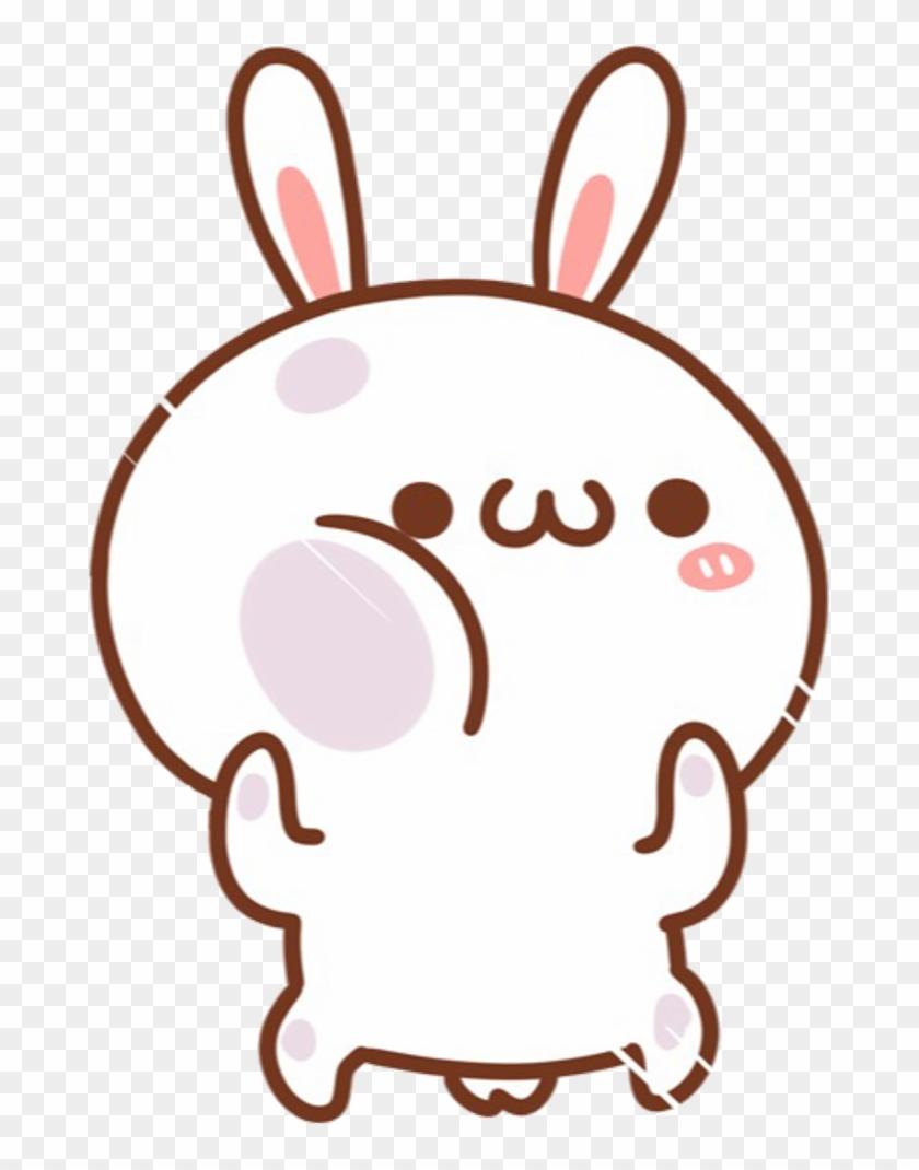 Kawaii Cute Bunny White Rabbit Cartoon Chibi Cute Cartoon Png Transparent Png 1024x1040 1965276 Pngfind