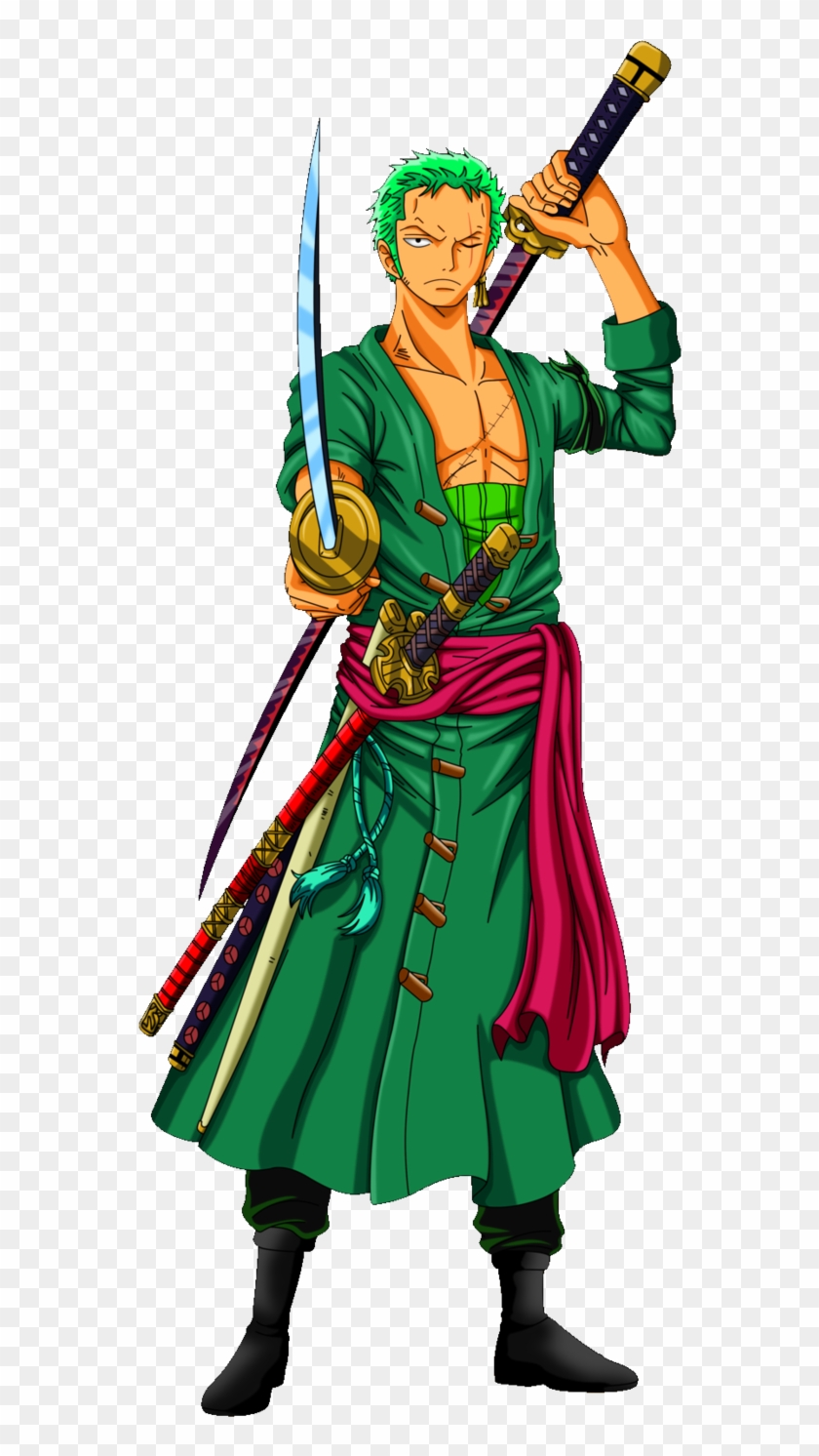 Roronoa Zoro By Alexiscabo1 Hd Png Download 558x1412 1966050 Pngfind