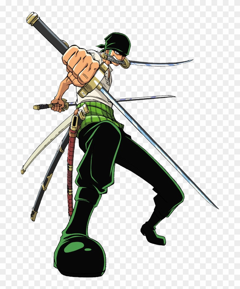 purchase cheap 40536 3f2a8 No Caption Provided - One Piece Characters Zoro, HD Png Download