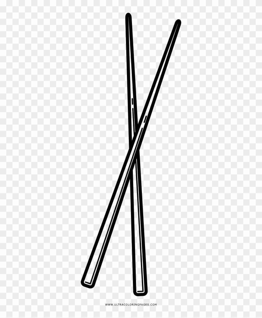 Chopsticks Coloring Page - Triangle, HD Png Download - 1000x1000 ...