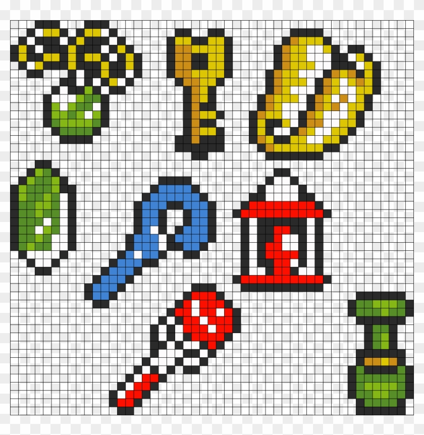 Legend Of Zelda Link To The Past Items - Link To The Past