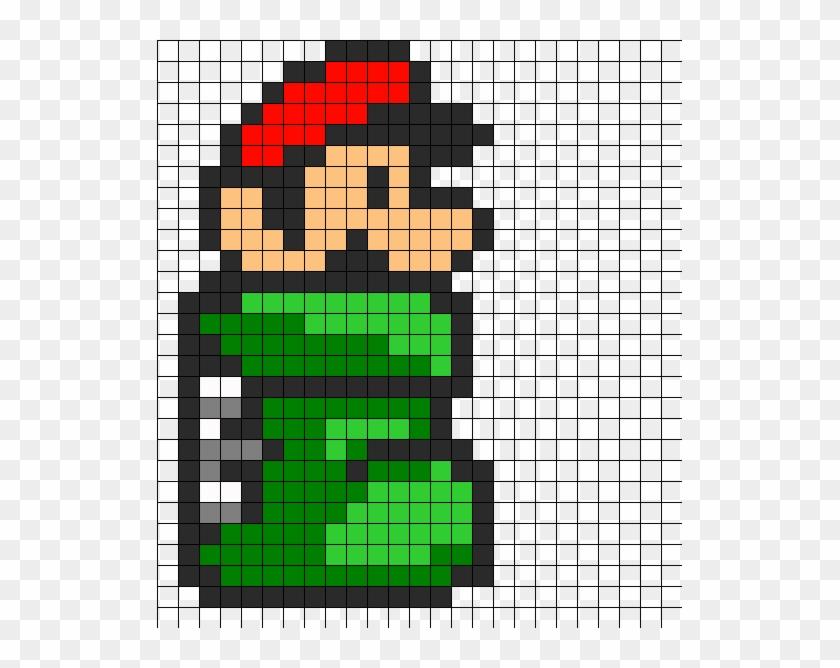 Christmas Mario Png.Mario In Green Tube Pixel Super Mario Christmas Hd Png