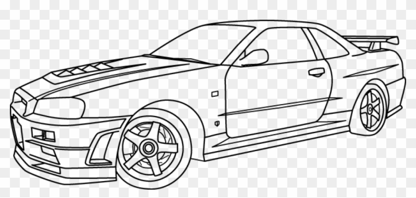 Skyline Coloring Pages 8 Images Of Nissan Skyline Gtr
