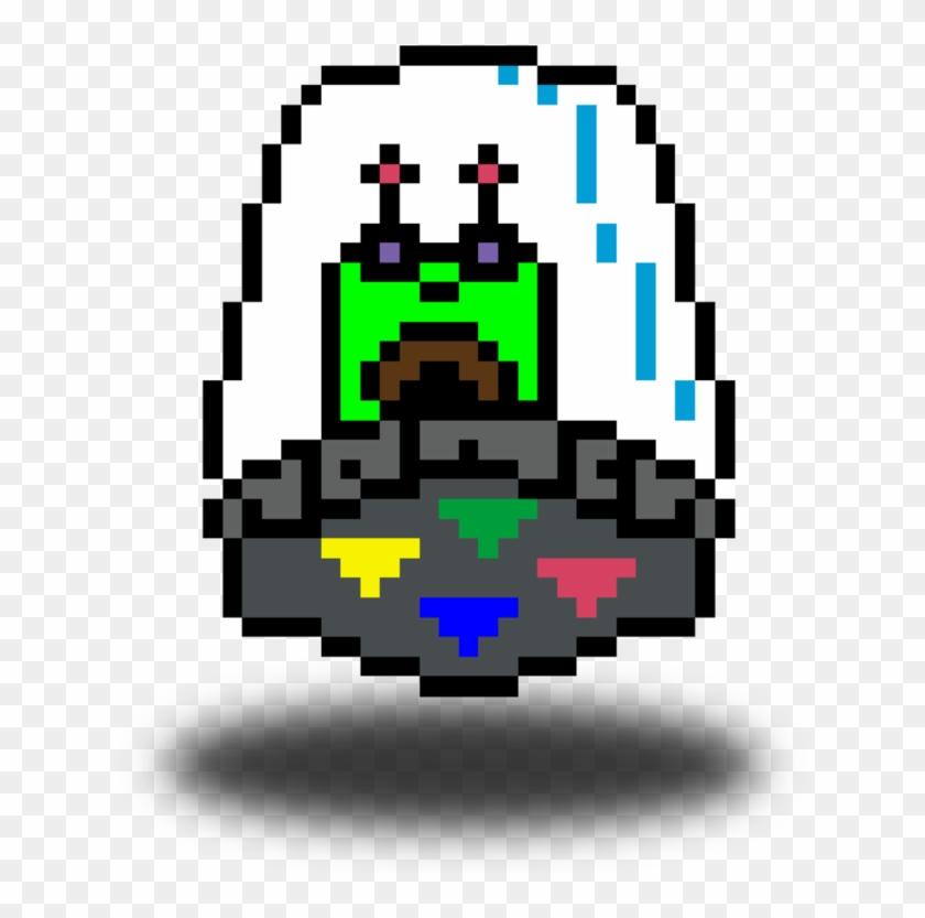 894x894 Alien L5ar43jq Png Pixel Spaceship Pngtransparent Art b6Y7fyg