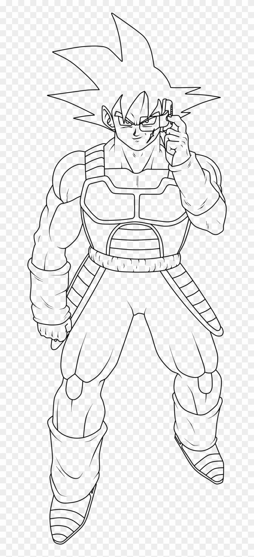 Dragon Ball Z Coloring Pages Goku Kamehameha With Dragon Bardock