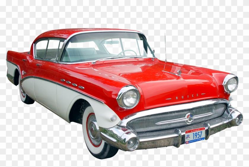 Transparent Background Vintage Car Png