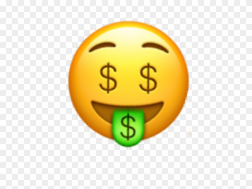 Money Face Emoji Moneyeyes Eyes Iphone Sticker Random Money Tongue Emoji Hd Png Download 720x549 24924 Pngfind