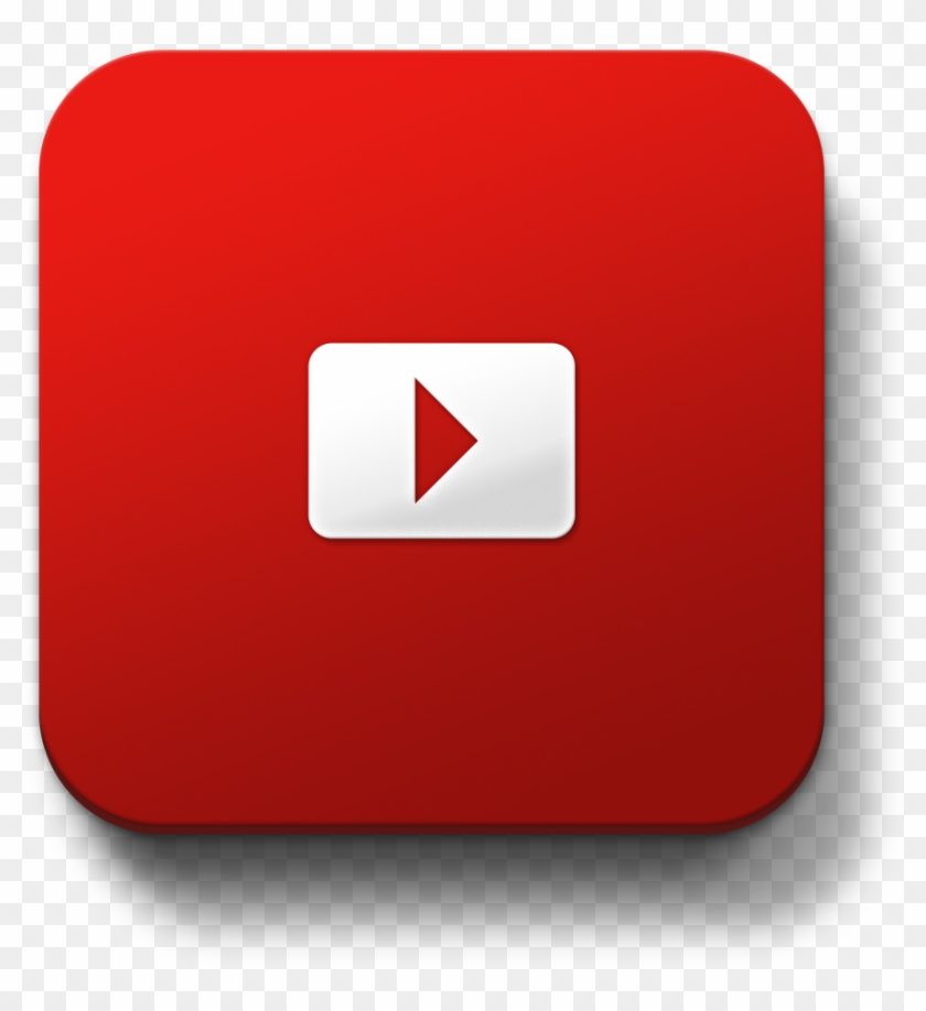 Youtube Subscribe Button Square , Png Download, Transparent Png