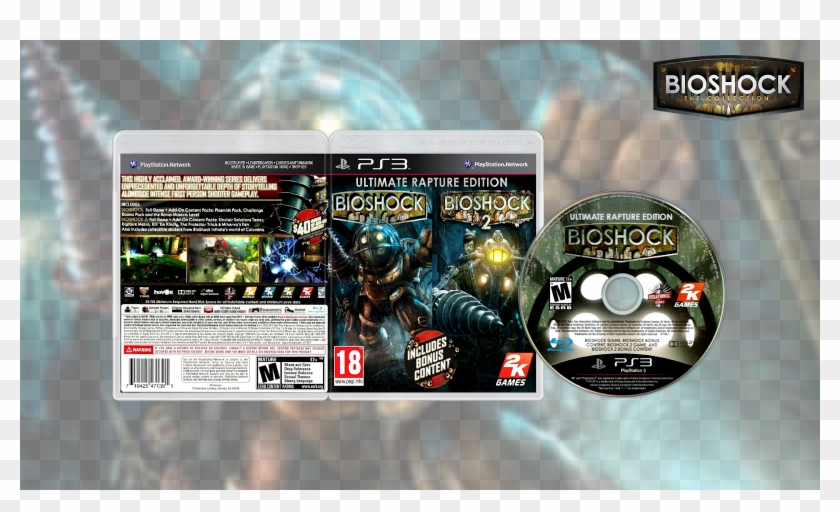 Bioshock Ultimate Rapture Edition Usa/europe Ps3 Download